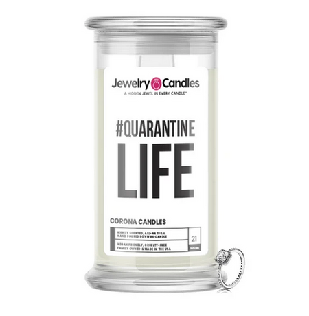 #QUARANTINE LIFE - Corona Candles