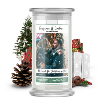 All I want For Christmas Is You Fragrance Candle