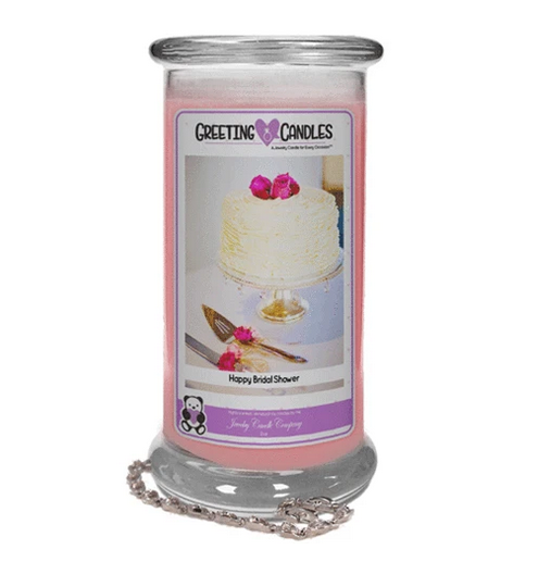 Happy Bridal Shower - Greetings Candle
