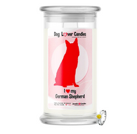 I LOVE MY German Shepherd - Dog Lover Candles