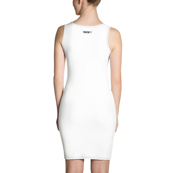 ThickFit White Sports Dress