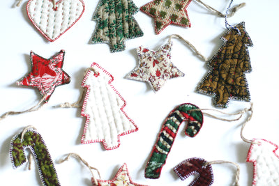 Surprise Me! - Variety Pack of 8 Cloth Ornaments