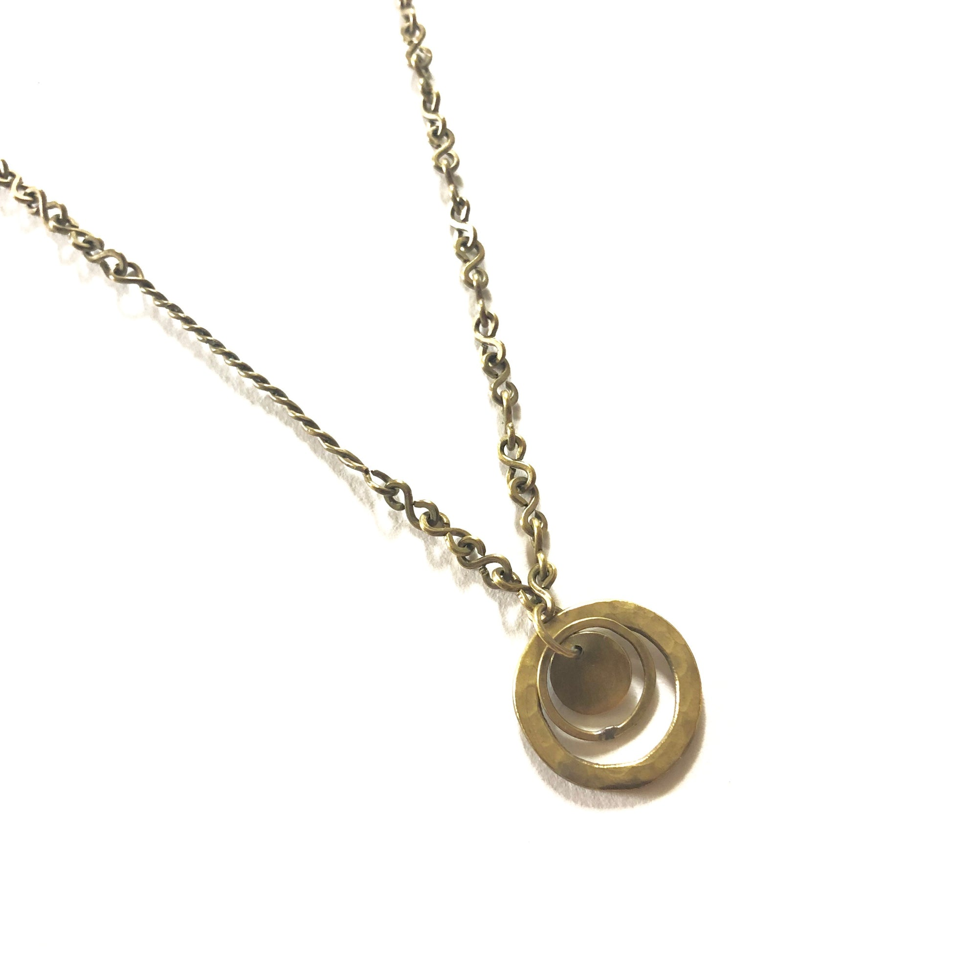 Suspended Circle Necklace