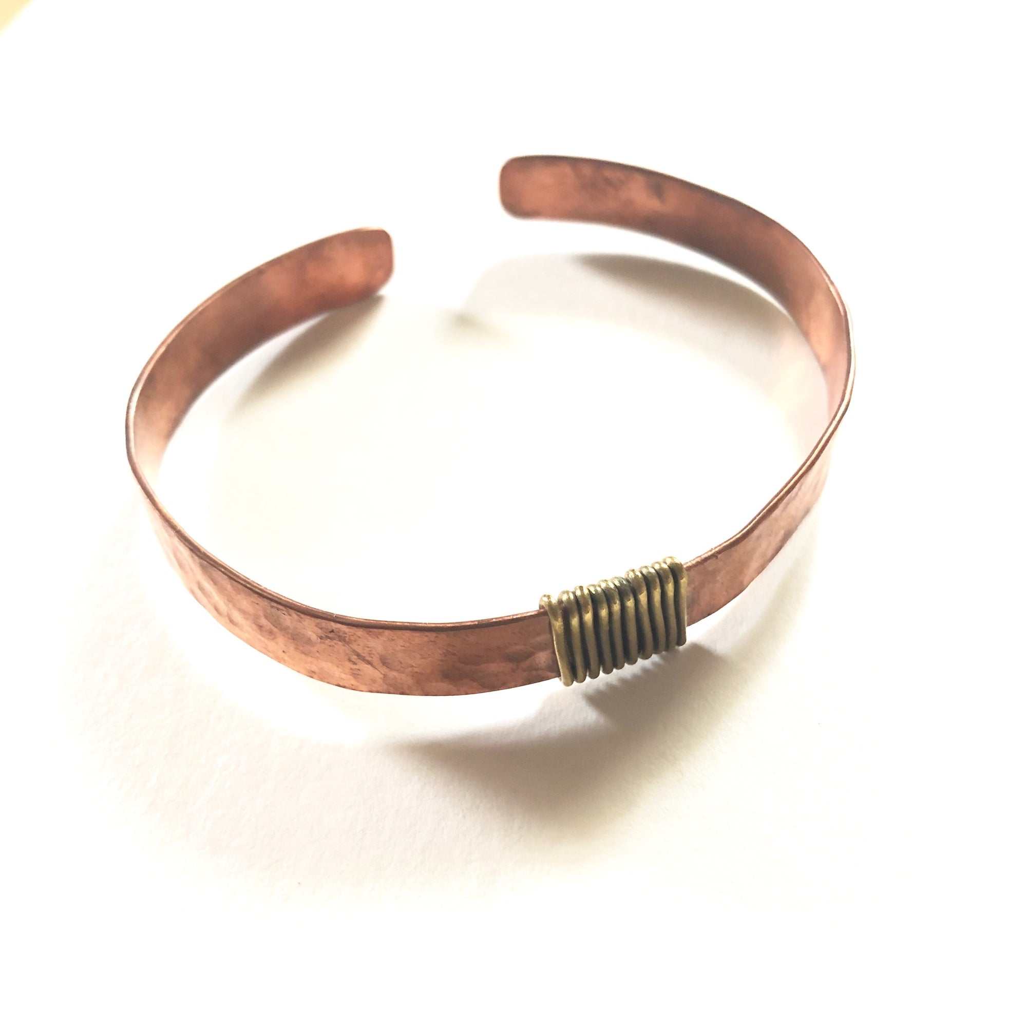 Wrapped Copper Bangle