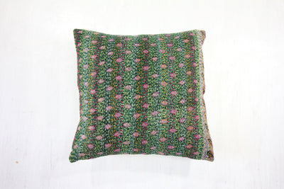 Vintage Cotton Cushion Cover - Large