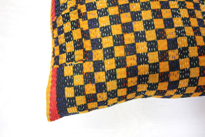 Vintage Cotton Cushion Cover - Small