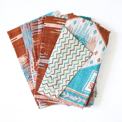 Vintage Cotton Napkins - set of 6