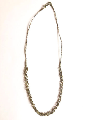 Brass Layered Chain Necklace