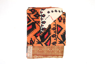Luxe Kantha Blanket - Double