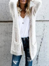 Load image into Gallery viewer, Fluffy  Long Sleeve Cardigans