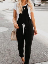 Load image into Gallery viewer, Spaghetti Strap  Plain  Sleeveless Jumpsuits