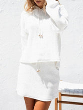 Load image into Gallery viewer, Fashion Plain Hoodie Suit