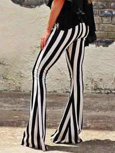 Fashion Casual Stripe Pants