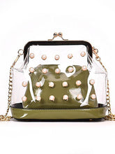 Load image into Gallery viewer, Transparent Pearl Shoulder Bag
