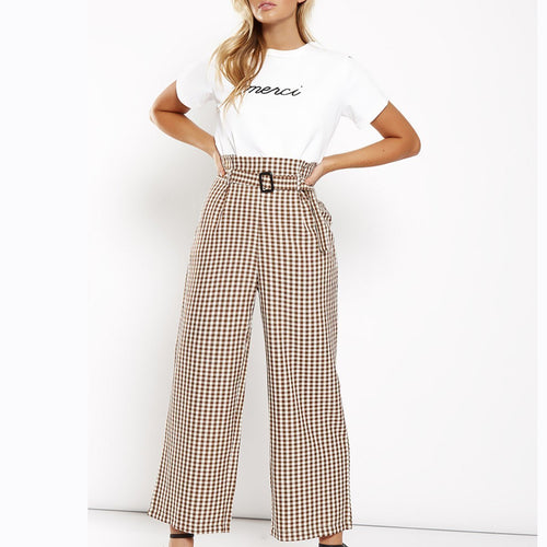 Casual Fashion Plain Pants