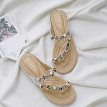 Load image into Gallery viewer, Rhinestone Buckle Beach Sandal