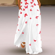 Load image into Gallery viewer, Butterfly Printed Maxi Casual Dress