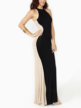 Load image into Gallery viewer, Modern Hanging Neck Sleeveless Evening Dress