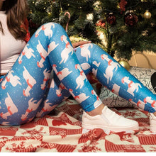 Load image into Gallery viewer, Christmas New Print   Sports Leggings