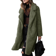 Load image into Gallery viewer, Fashion Lapels Warm Wool Long Coat