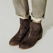 Load image into Gallery viewer, Fashion Winter/Autumn Leather Women Boots