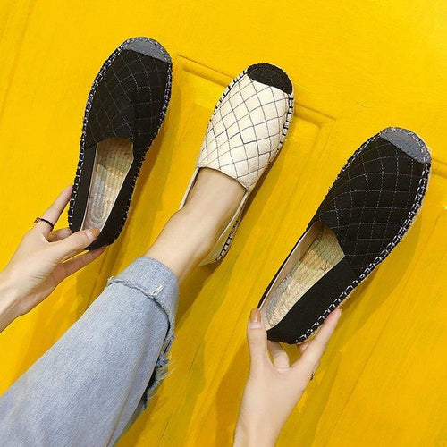 Summer Split Joint Flat Soft Loafer Shoes