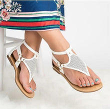 Load image into Gallery viewer, Summer New Flat Peep Toe Female Sandals