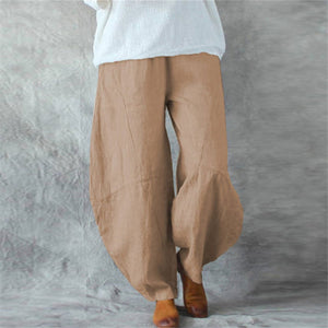 2019 Casual Plain Loose Sot Pants