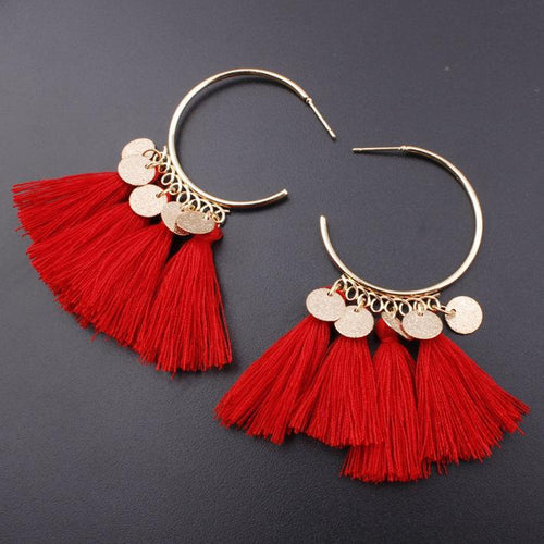 Bohemian Tassel Vintage Earrings