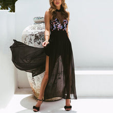 Load image into Gallery viewer, Sexy Sleeveless Chiffon Maxi Dress