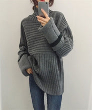 Load image into Gallery viewer, Fashion warm turtle neck sweater
