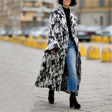 Load image into Gallery viewer, Fashion Printed Graffiti Horn Sleeve Coat