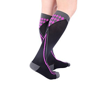 Men's Socks Knowledgeable Men Women Leg Support Compression Socks Stretch Breathable Ball Games Socks Hot Selling