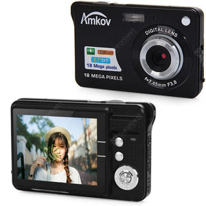 18.0MP 2.7 inch Digital Camera-Video Anti Shake - QWERTY LLC