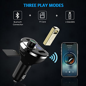Bluetooth FM Transmitter, Wireless - QWERTY LLC