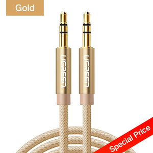 Ugreen Jack 3.5 Audio Cable Aux - QWERTY LLC