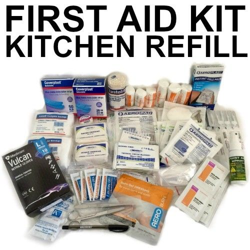 KITCHEN FIRST AID KIT REFILL