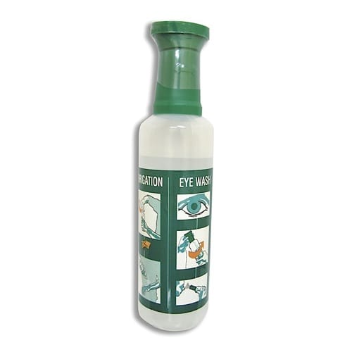 500ML EYE WASH BOTTLE WITH SALINE