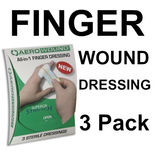 AREO WOUND 3 STERILE DRESSINGS