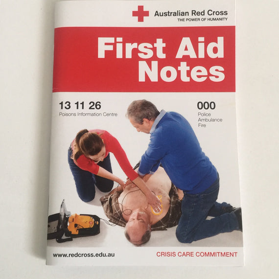 GUIDE TO FIRST AID 44PG BOOK