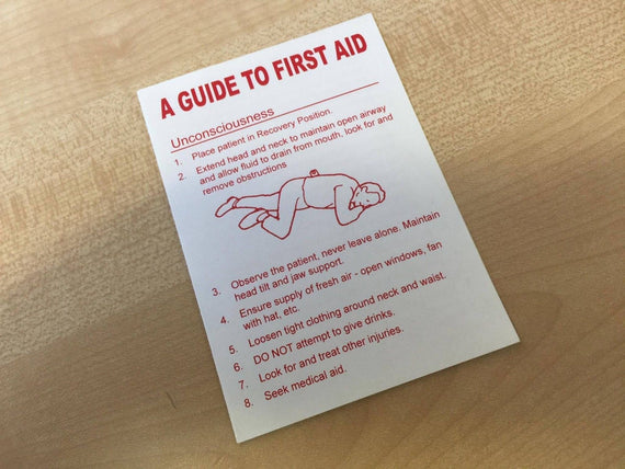 FIRST AID BASIC LEAFLET