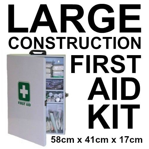 LARGE CONSTRUCTION FIRST AID KIT