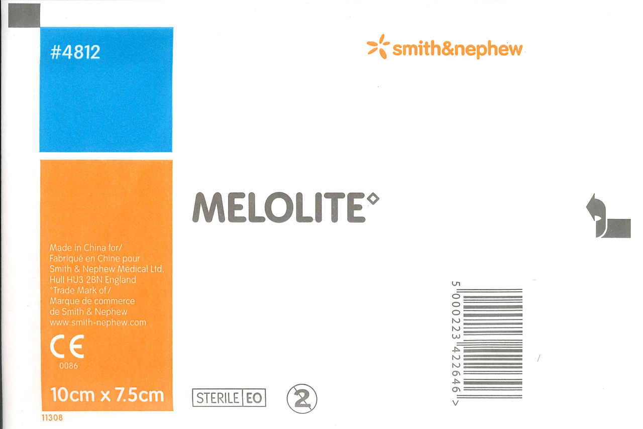 Melolite Dressings 10cm x 7.5cm (Box 100)