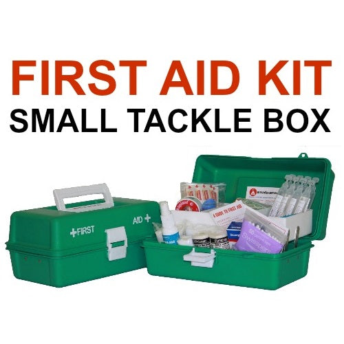 SMALL OFFICE GREEN TACKLE FIRST AID KIT
