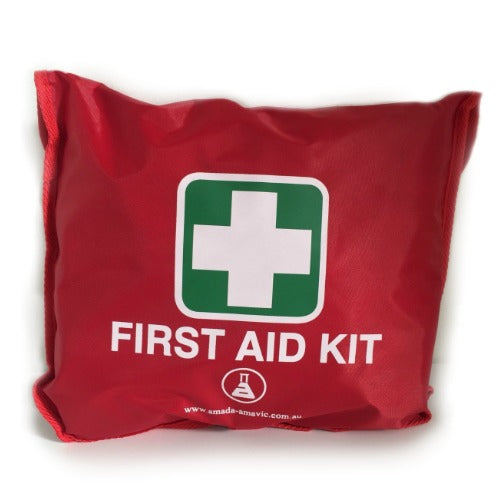 WORK VEHICLE FIRST AID KIT RED POUCH
