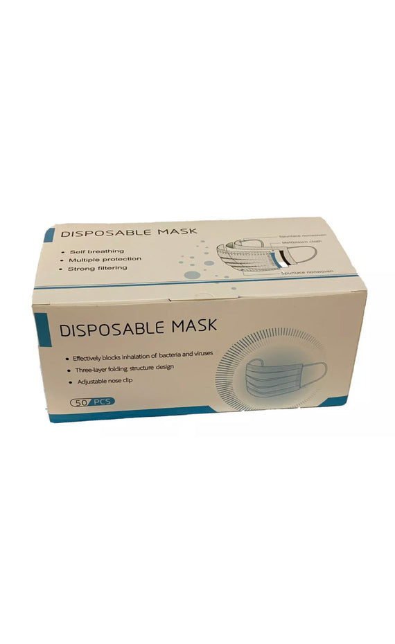 Surgical Masks Box of 50 Disposable