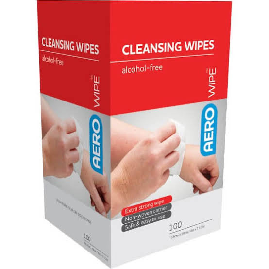100 Alcohol Free Cleansing Wipes
