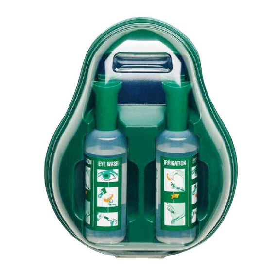 Braun Eye Wash Emergency Station with 2 x 500mL Saline solution