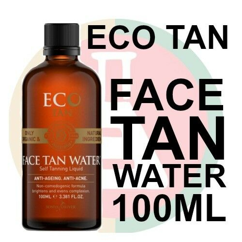 Eco Tan Certified Organic Face Tan Water (100ml)
