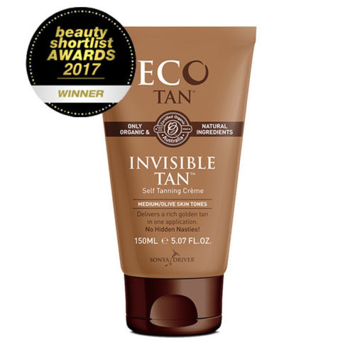 Eco Tan Invisible Tan (150ml) Organic CERTIFIED TOXIC FREE